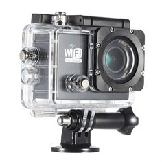 Buy best silver Full HD Wifi Action Sports Camera DV Cam from Tomtop. Cheap Sports & Action Camera online, various discounts are waiting for you Wifi, Best Dslr, New Mobile Phones, Sports Camera, Security Cameras For Home, Dashcam, Photo Accessories, Video Camera, Wide Angle