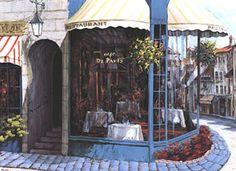 Cafe de Paris by Victor Shvaiko