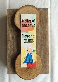 OtterNonsenseDesigns Mother Of Dragons Bookmark