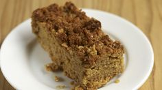 A+tempting+slice+of+buttery+flapjack+©+National+Trust+Images+/+William+Shaw