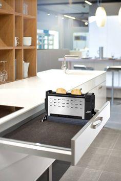 Einbau-Toaster ET 10: Klassisch Küche von ritterwerk GmbH