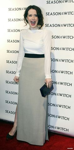Claire Foy at the New York Premiere of 'Season of the Witch', 2011