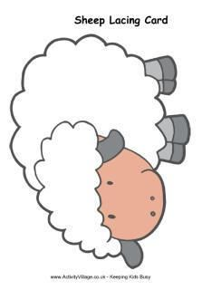 Sheep Printables