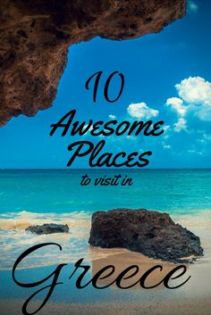 There are so many beautiful places to visit in the Greece. So we have made a list for you with 10 of the best places to visit in the Greece.