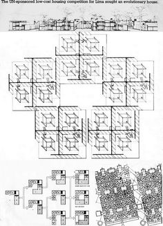 james stirling's low cost housing project for a UN program in peru, late sixties. more info at iqbal aalam flickr stream (as always, j...
