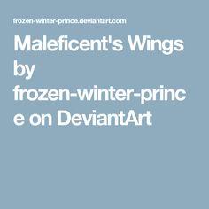 Maleficent's Wings by frozen-winter-prince on DeviantArt