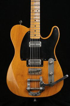 Telecaster with Supertron pickups and Bigsby tremolo