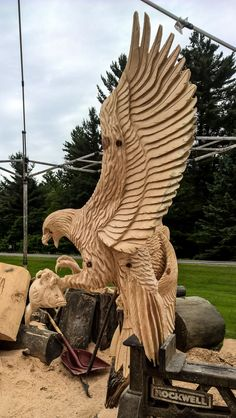 Chainsaw Carving inspiration www.chainsawsforsale.org