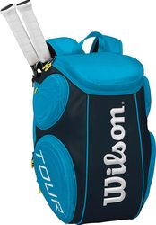 Borsa da Tennis Blue - Wilson Tour Molded Wilson Blue Tennis Bag at a super affordable price! Order it today on Sport Closet and save! Great also as a gift idea! Tennis Bags, Tennis Gear, Golf Bags, Tennis Equipment, Camping And Hiking, Hiking Packs, Backpacking Packs, Hiking Backpack, Cool Items