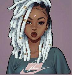 Drawings sexy black art, black girl art, black women art, black i Sexy Black Art, Black Love Art, Black Girl Art, Black Is Beautiful, Black Girl Magic, Art Girl, Black Girls Drawing, Arte Dope, Dope Art