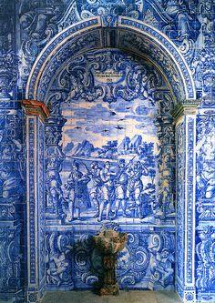 Azulejo Portico, São Lourenço, Portugal | Flickr - Photo Sharing!