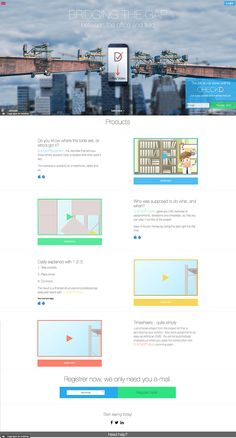 Check out this awesome website design for SaaS company in Norway! http://www.checkd.it  Any ideas for improvement?