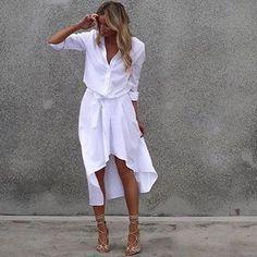 Look inspiração. Adoro produções monocromáticas. Branco é muito chique. #estilo #moda #inspiração #branco #instablog