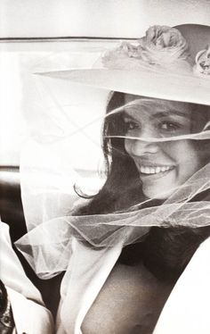 Bianca Jagger on her wedding day to Mick Jagger in St-Tropez. Photo by Patrick Lichfield, Bianca Jagger, Mick Jagger, Studio 54, Alexa Chung, Twiggy, Divas, Estilo Glamour, Moves Like Jagger, Jessica Day