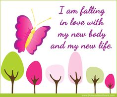 I am falling in love with my new body and my... Weight Loss Affirmations at http://www.makeavisionboard.com/weight-loss-affirmations