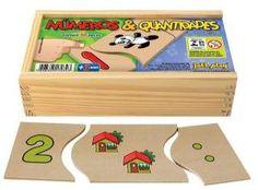 Números e Quantidades (30 peças) - Jott Play