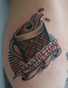 coffee mug tattoo | James Colceri