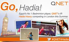 QNET IR Hadia Hosny Competes in 2012 London Olympics http://thevonline.wordpress.com/2012/07/04/qnet-ir-from-egypt-competes-in-the-london-2012-olympics/
