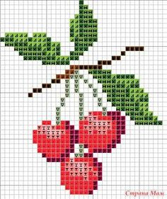 Thrilling Designing Your Own Cross Stitch Embroidery Patterns Ideas. Exhilarating Designing Your Own Cross Stitch Embroidery Patterns Ideas. Cross Stitch Fruit, Cross Stitch Kitchen, Mini Cross Stitch, Cross Stitch Flowers, Cross Stitch Charts, Cross Stitch Designs, Cross Stitch Patterns, Butterfly Cross Stitch, Broderie Simple