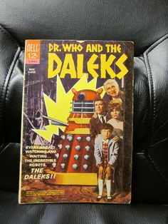 'Dr. Who and the Daleks' movie adaption comic book, 1966