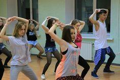 Видео отчёт, уроки клубных танцев в январе 2015