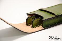 Füllfeder-Etui aus Leder von 3wunder / Leather pen case by 3wunder