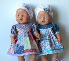 zb rosa Puppenkleidung NEU 43 cm Onesie Baby Born