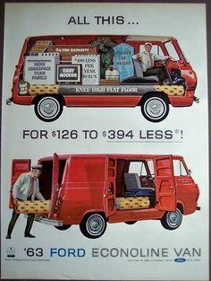 1963 Ford ECONOLINE Van ...
