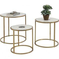 aeb5166b6d9e0b Un joli set de 3 petites tables d appoint LIMBO de Kare pour accompagner les