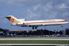 Continental Boeing 727-200