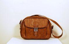 Autumn Brown Messenger Bag