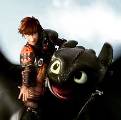 ARE YOU NOT ENTERTAINED? < That comment. Lol! Hiccup and Toothless. HTTYD 2. :)
