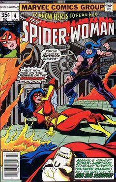 Spider-Woman # 4 by Dave Cockrum & Bob Wiacek
