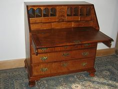 secretary desk with cubbies - classy and absolutely fabulous.