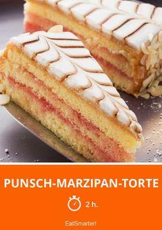 Punsch-Marzipan-Torte - smarter - Zeit: 2 Std. | eatsmarter.de