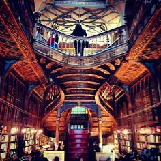 Considered one of the 10 most beautiful bookstores in the world, Lello is a true jewel of Porto, and a delight for the eyes of all those that visit the city
