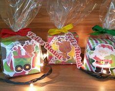 Caixa Natal com chocolate