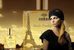 Το Huile Prodigieuse, πιο δημοφιλές προϊόν της Nuxe φοράει τα καλά του και λανσάρεται σε μια συλλεκτική έκδοση με τον πύργο του Άιφελ πάνω στο μπουκάλι.