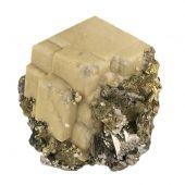 Siderite, Arsenopyrite & Chalcopyrite
