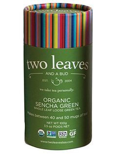 Two Leaves and a Bud Organic Sencha Green Loose Tea Cylinder 35 Ounce >>> You can find more details by visiting the image link. Note: It's an affiliate link to Amazon.