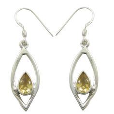 Shop Etsy, the place to express your creativity through the buying and selling of handmade and vintage goods. Silver Earrings, Pearl Earrings, Drop Earrings, Citrine Gemstone, Gemstones, Jewellery, Amp, Unique Jewelry, Handmade Gifts