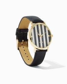 Studs & Stripes Watch | Watches | charming charlie