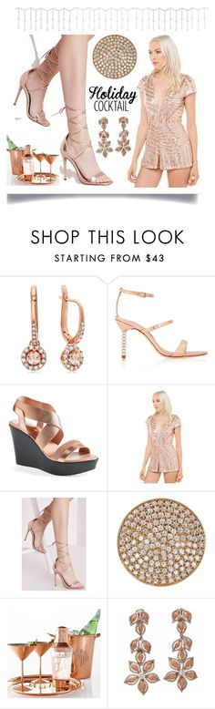 """""""New Year Party Wear"""" by yours-styling-best-friend ❤ liked on Polyvore featuring interior, interiors, interior design, home, home decor, interior decorating, Sophia Webster, Charles by Charles David, Missguided and Melinda Maria"""