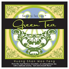 Serenity Tea Sips Huang Shan Mao Feng  4 oz loose leaf green tea with delicate aroma and taste *** Be sure to check out this awesome product.-It is an affiliate link to Amazon. #LooseLeafTea