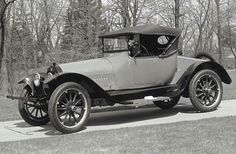 1915 Buick Model C-54.  The Roadster was one of only 352 built in 1915. It was a mid-year model, so it is not included in Buick's sales brochures. The wheel spokes are made of hard wood.