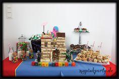Geburtstagstisch Ritterparty
