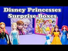 FROZEN Disney Frozen + Disney Princesses Huge Surprise Mail Funny Surprise Toys Egg Video - YouTube