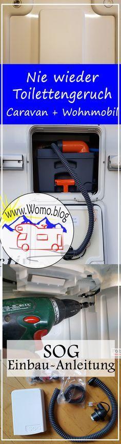 Es riecht in der Toilette? Caravan oder Wohnmobil? Dann baut euch eine SOG ein und das ist immer Ruhe! #Wohnmobil #Caravan #Caravaning #SOG #DIY #Einbauanleitung #Selbstbau #Womo.blog