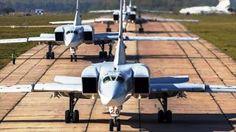 Los bombarderos rusos Tu-22M3 y Tu-95MS volarán desde Siberia hasta unas distancias donde se sitúan...