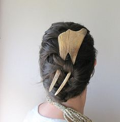 Elk Antler Hair piece...finally a use for those things instead of on the wall :)